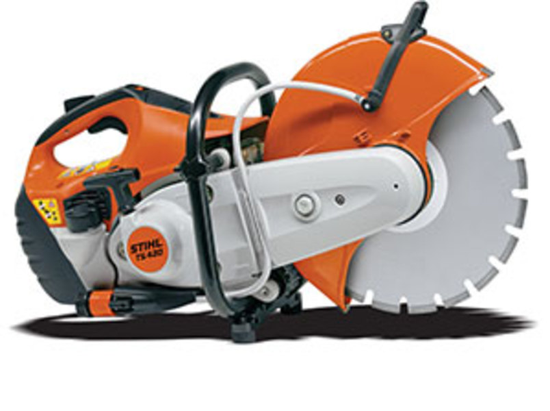 Cat stihl ts420 shadow