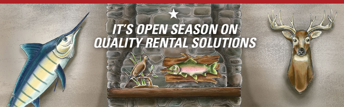 Open Season on Quality Rental Solutions