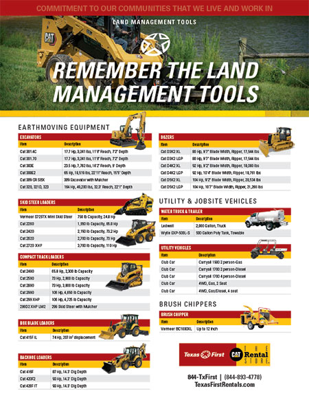 Land Management Solutions - English
